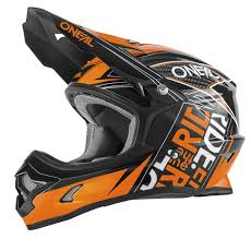 oneal motocross helmets o u0027neal kids helmet 3series youth fuel black orange 2018 maciag