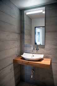 Modern Powder Room - organic design with warm contemporary powder room modern and