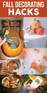 Fall Decorating Hacks