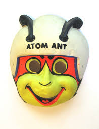 halloween collectables reserved for gary vintage 1965 atom ant halloween mask ben cooper