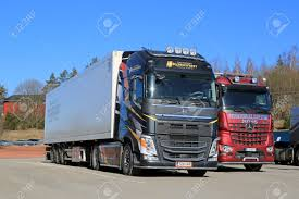 new volvo commercial salo finland march 14 2015 new volvo fh and mercedes benz