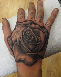 black rose on hand tattoo meaning all about tattoo
