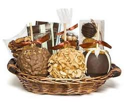 easter gift baskets gourmet caramel apple decadent gift basket