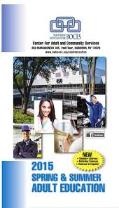 swboces spring 2015 education brochure by southern
