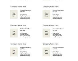 free online business card templates for word business card