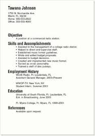 simple resume writing templates resume sample 001r6 home