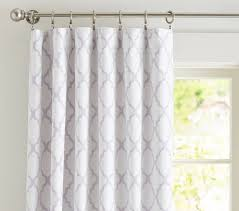 Curtains That Block Out Light Flocked Blackout Panel Pottery Barn
