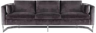 mink crushed velvet sofa tags amazing grey velvet sofa
