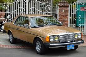 mercedes 300d coupe mercedes 300 series 2 door coupe 1983 chagne metallic mb