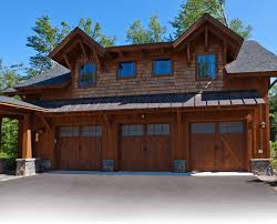 log home floor plans with garage log house plans timber frame house plans three car detached