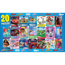licensed jigsaw puzzle mini tins 20 pack sturdy pieces come in