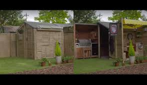 video this ultimate bbq shed will make your bbqs the best on the