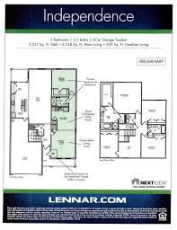 lennar floor plans aragon by lennar homes town home floorplans