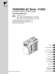 yaskawa v1000 cimr vc manual pdf electronic circuits