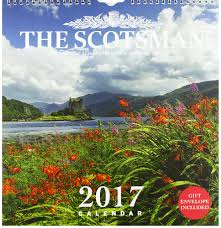 Wall Scenes by The Scotsman Wall Calendar 2017 12 Magnificent Scenes Of