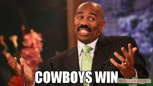 Cowboys Win Meme - cowboys win meme steve harvey 60408 memeshappen
