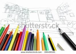 Tools For Interior Design by Sketched Room Setting Stock Images Royalty Free Images U0026 Vectors