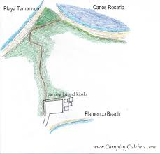 Map Of Puerto Rico Beaches by Camping Culebra Puerto Rico Maps