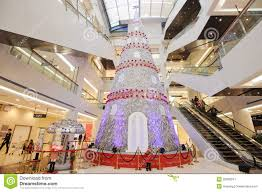 tree in a shopping mall editorial stock image image