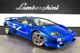 blue lamborghini diablo purchase used sv special order paint alpine premium