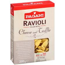 italian truffle cheese pagani ravioli with cheese and truffle hy vee aisles online