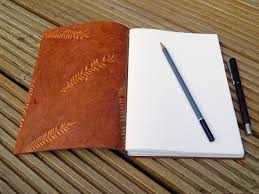 lizzie made more leather journals