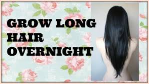 How To Make Your Hair Grow Faster How To Make Your Hair Grow Longer Faster Overnight Healthy Dent