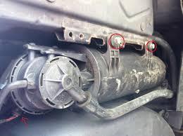 lexus rx300 charcoal canister ldp leak detection pump charcoal cannister diy bimmerfest