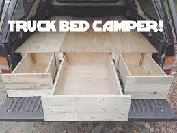 homemade truck cab diy truck cap bed camper part 1 youtube