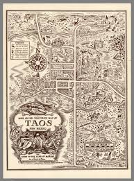 State Map Of New Mexico by More Or Less Inaccurate Map Of Taos New Mexico Guide To The Land