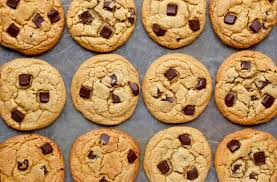 peanut butter chocolate chunk cookies just a taste