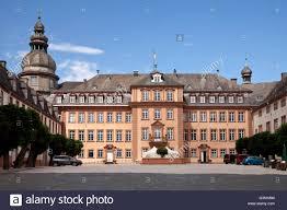 Bad Berleburg Schloss Berleburg Castle Bad Berleburg Wittgensteiner Land Stock