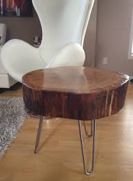 coffee tables exquisite tree trunk side tables and stump coffee