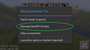 block launcher pro apk how to install minecraft pe mods addons for android mcpe dl