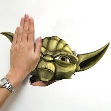 Popular Characters Murals Roommates Amazon Com Roommates Rmk1402gm Star Wars The Clone Wars Yoda