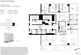 one palm 4 bedroom floor plan 4