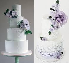 purple lilac lavender wedding cakes cake magazine