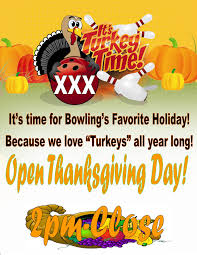 b b bowling lanes events events thanksgiving