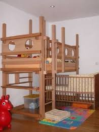 Build Loft Bed With Stairs by Shared Kids Room With Crib For The Home Bunk Bed With Crib