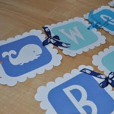 baby shower whale theme whale baby shower banner for boy personalized so sweet party shop