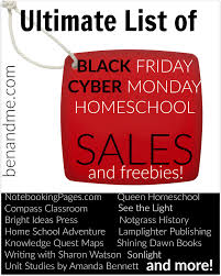 black friday rosetta stone ultimate list of homeschool sales for black friday and cyber