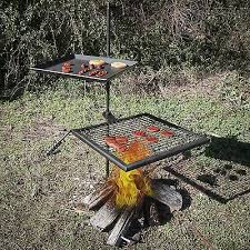 Outdoor Fireplace With Cooking Grill by Best 25 Fire Pit Cooking Ideas On Pinterest Fire Pit Grill