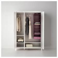 Schlafzimmerschrank Billig Kaufen Brusali Kleiderschrank 3 Türig Ikea