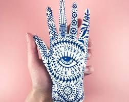 porcelain skeleton ring holder images Hand ring holder etsy jpg