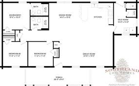 bay minette log cabin floor plan southland log homes log homes