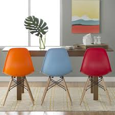 Modern Dining Chairs Langley Brook Modern Solid Wood Dining Chair Reviews Wayfair