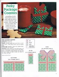 perky package coasters by joan green 1 1 from a festive