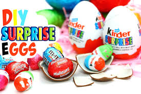 easter eggs surprises diy eggs how to make kinder eggs for easter diy