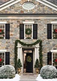 christmas exterior georgian architecture curb appeal and georgian