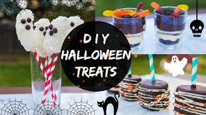 Quick Halloween Appetizers by Diy Halloween Treats No Bake Youtube